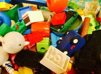おもちゃが多い